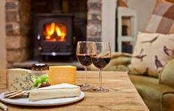 Gamekeepers Fire, Cheese & Wine