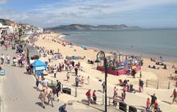 Beach At Lyme Regis