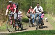 Join forest cycling trails from you