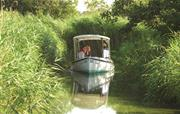 An electric boat trip