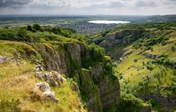 Cheddar Gorge and Reservoir
