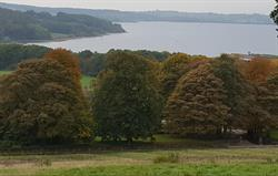 View over the grounds to Carsington