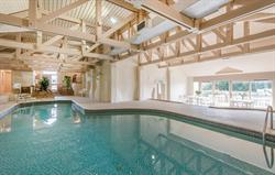 Heated indoor pool at Broomhill Man