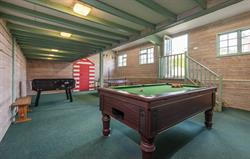 Games room at Broomhill Manor
