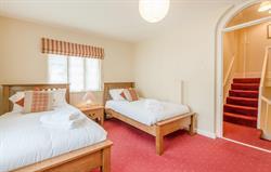 Manor Apartment twin bedroom 1