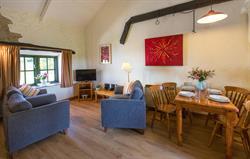 Fron Haull Cottage Lounge
