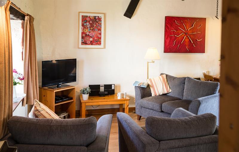 Fron Haul Cottage Lounge