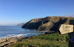 Pembrokeshire Coastal Path Walking.
