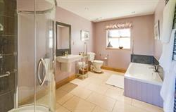 Large bathroom and shower room