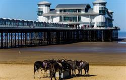 The New Pier At Weston Super Mare