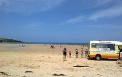 Ice Creams at Harlyn Bay