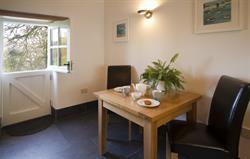 Dining area near stabledoor
