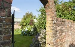 Coach House walled garden