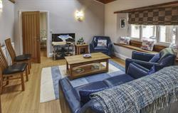 St Pirans 2 Bed Lodge Lounge