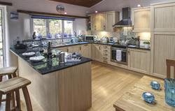 St Pirans 2 Bed Lodge, Kitchen