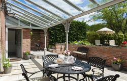 Covered Terrace & garden