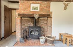 Farmhouse Lounge Fireplace