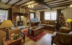 Inglenook festive lounge