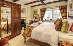 Inglenook master bedroom