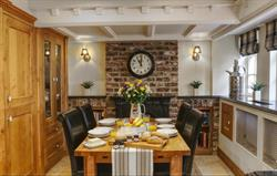 Inglenook Cottage dining area