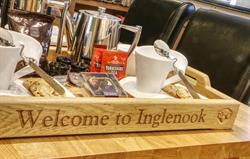 A warm welcome to Inglenook