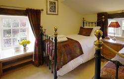 Inglenook twin bedroom