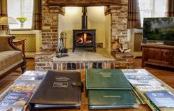 Inglenook - a good read by the fire