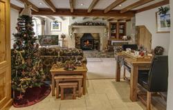 The Byre festive lounge
