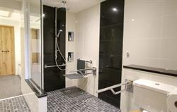Wet room fully accessible