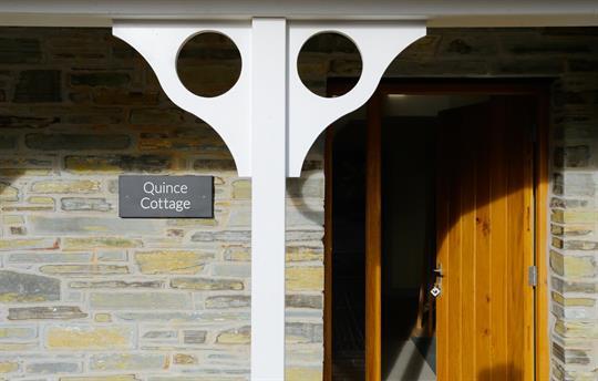 Quince Front Door