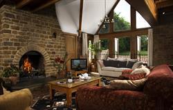 Walnut Living Room Overview