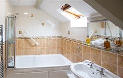 Hayloft bathroom