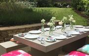 Summer lunch in the garden