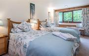Twin Bedroom in Derwent Cottage