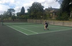 Tennis court at Park Farm