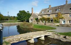 The footbridge at Lower Slaughter