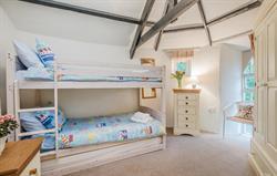 Round House bunk bedroom