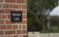 Greendale Lodge sign