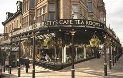 Betty's tea room in Harrogate