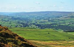 Wensleydale from Pen Hill