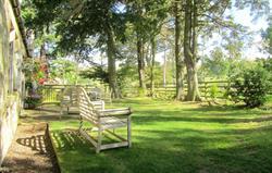 Bluebell Byre garden