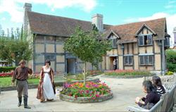 Shakespeare's Birthplace and actors