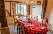 Barn dining room