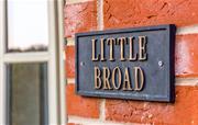 Little Broad sign