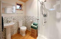 Luxury en-suite shower