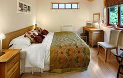 Wheal Sparrow 2 Bed Lodge Bedroom