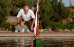 Boating Lake at Sheringham