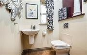 Ground floor bathroom/cloakroom