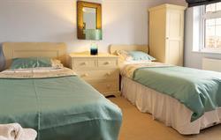 Twin Bedroom at Rhos Wen