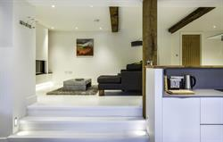 Open plan contemporary living